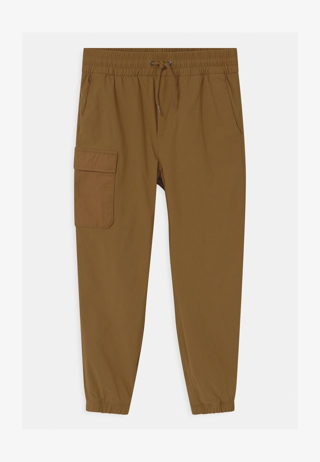BOY LINED HYBRID  - Cargo trousers - palomino brown global