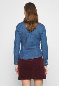 Lee - SLIM WESTERN - Button-down blouse - blueprint - 2