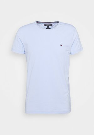 SLIM FIT TEE - T-shirt con stampa - sweet blue