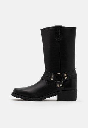UNISEX - Kovbojské/motorkářské boty - schwarz