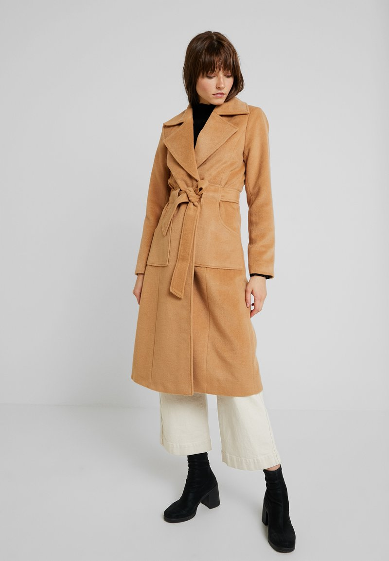 YAS - YASLEANN COAT - Classic coat - tan