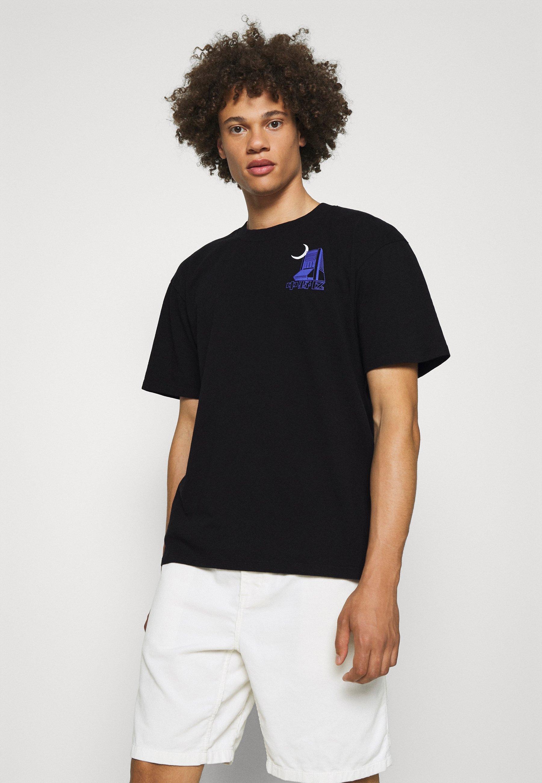 Men NAKANO - Print T-shirt - black
