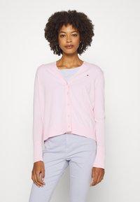 Tommy Hilfiger - LOUA CARDI - Cardigan - pastel pink - 3