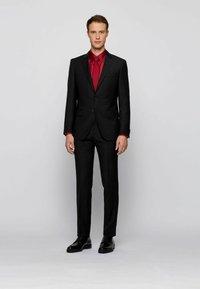 BOSS - HUNTON DERB LTVP - Smart lace-ups - black - 0