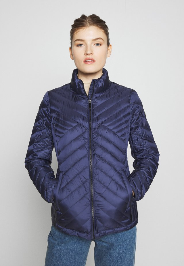 FITTED PACKABLE PUFFER - Gewatteerde jas - true navy