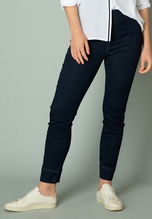 GIOVE - Slim fit jeans - dark blue denim