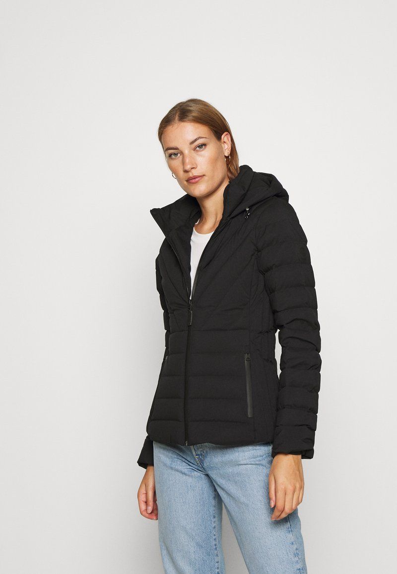 Abercrombie & Fitch - PUFFER - Down jacket - black