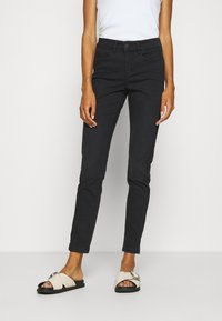 Opus - EMILY SNAKE TAPE - Jeans Skinny Fit - coal black - 0