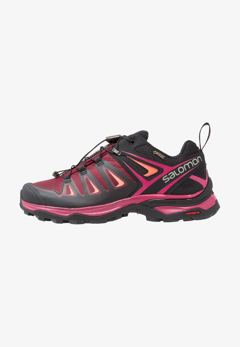 Salomon - X ULTRA 3 GTX  - Hiking shoes - tawny port/black/living coral