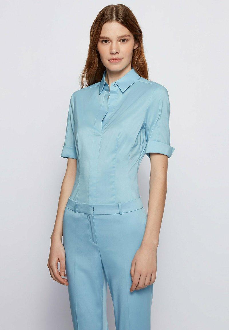 BOSS - BASHINI - Blouse - light blue