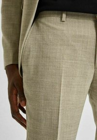 Selected Homme - LEICHT - Kostymbyxor - sand - 3