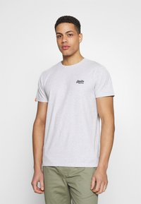 Superdry - VINTAGE CREW - Basic T-shirt - grey - 0