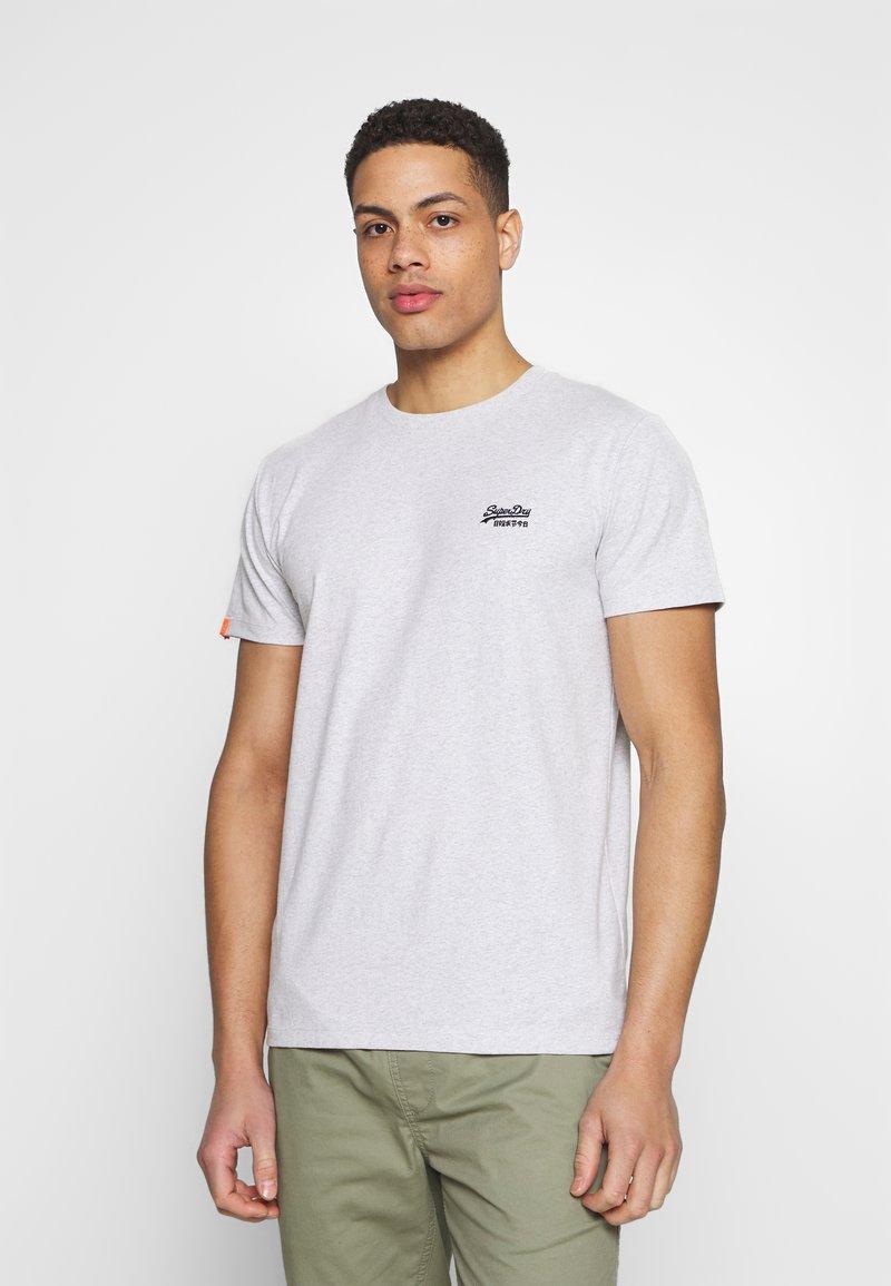 Superdry - VINTAGE CREW - Basic T-shirt - grey