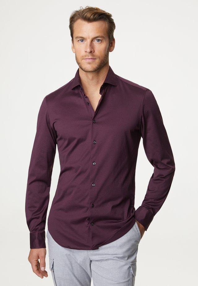 FILODISCOZIA - Overhemd - bordeaux