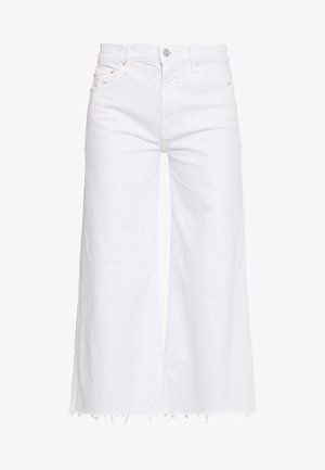 THE UNDERCOVER ANKLE FRAY - Flared Jeans - chalk