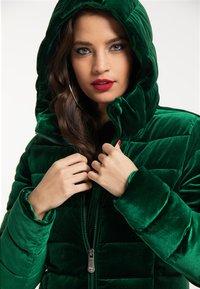 faina - Winter coat - smaragd - 3