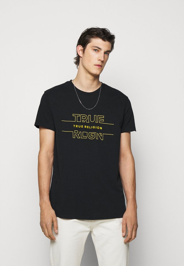 CREW TEE - T-shirt imprimé - black