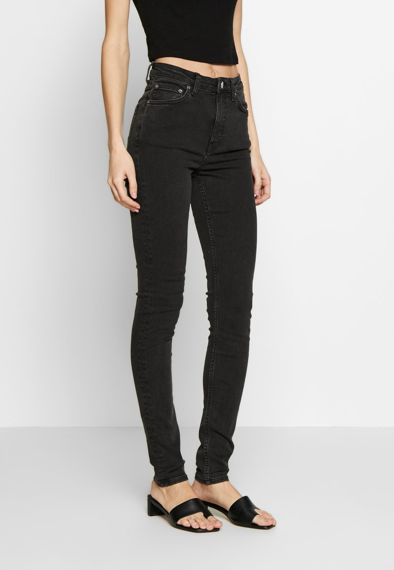 Weekday - THURSDAY  - Jeans slim fit - tuned black