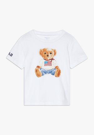 BEAR TEE - Print T-shirt - white