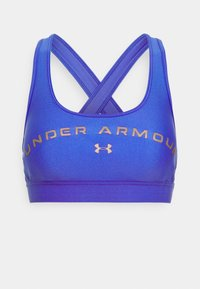 Under Armour - MID CROSSBACK BRA - Sports bra - emotion blue - 4