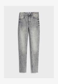 Bershka - Jeans Skinny - grey - 4