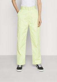 Dickies - ELIZAVILLE - Trousers - mellow green - 0
