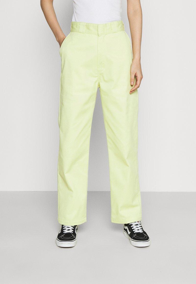 Dickies - ELIZAVILLE - Trousers - mellow green
