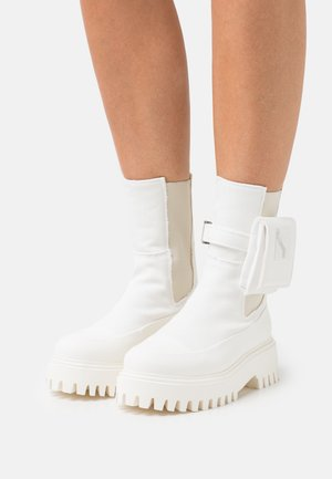 GROOV-Y - Kotníkové boty na platformě - offwhite
