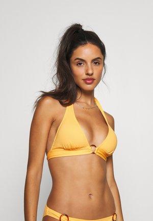 TRIANGLE - Bikini top - yellow