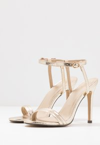 4th & Reckless - RYLEY - High heeled sandals - gold - 3