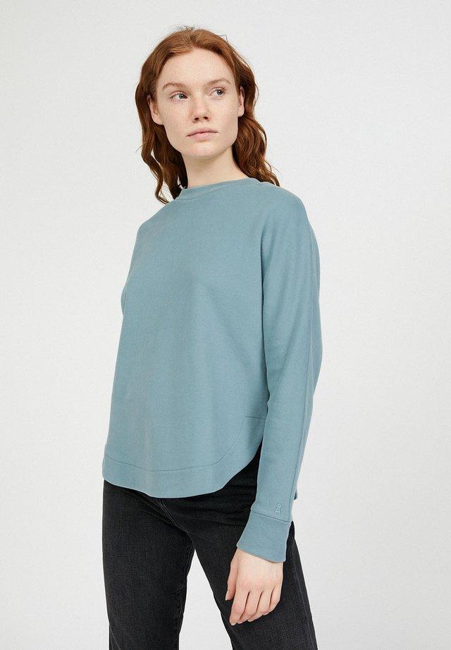 Sweatshirt - soft moss