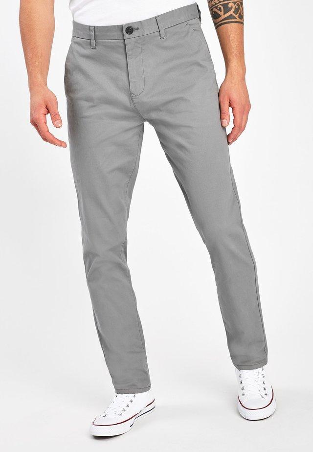 Pantalones chinos - light grey