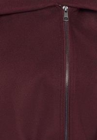 ONLY - ONLCANE COAT - Krátký kabát - bordeaux - 5