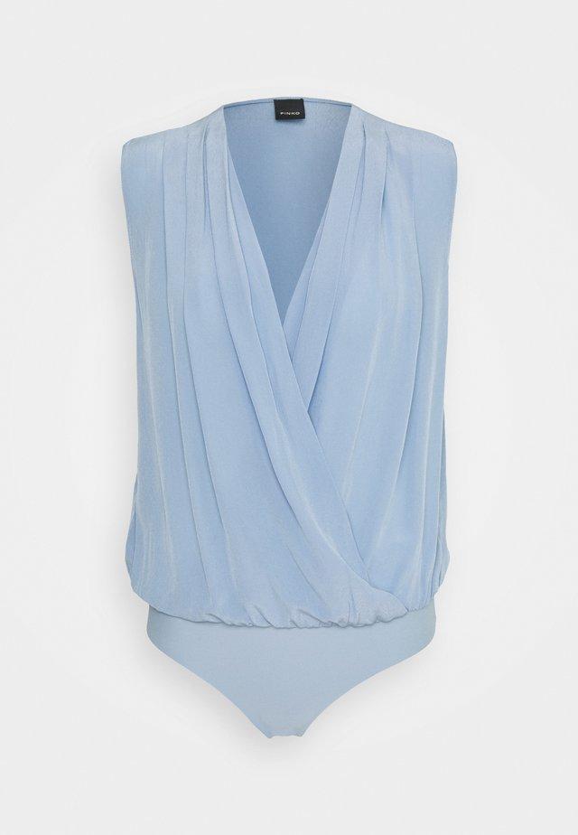 INES BODY - Bluse - light blue
