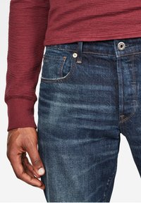 G-Star - 3301 STRAIGHT - Jeans a sigaretta - dk aged - 2