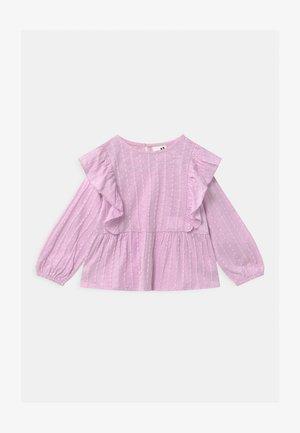 JUNO LONG SLEEVE FRILL - Maglietta a manica lunga - lavendar fog