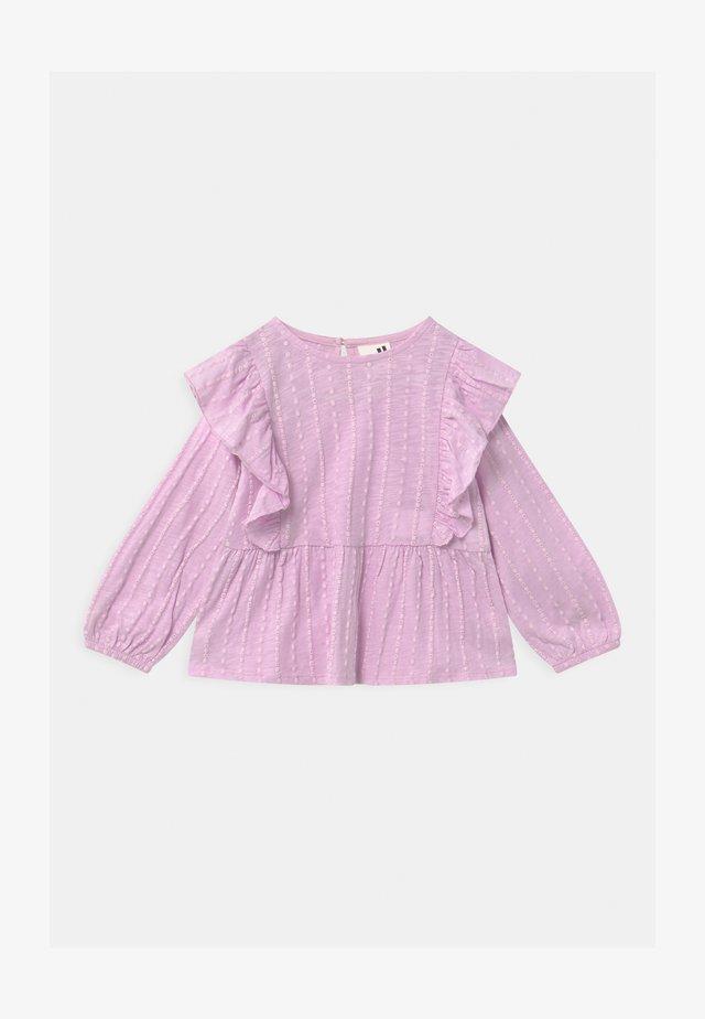 JUNO LONG SLEEVE FRILL - Langærmede T-shirts - lavendar fog