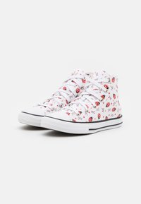 Converse - CHUCK TAYLOR ALL STAR  - High-top trainers - white/red/black - 1