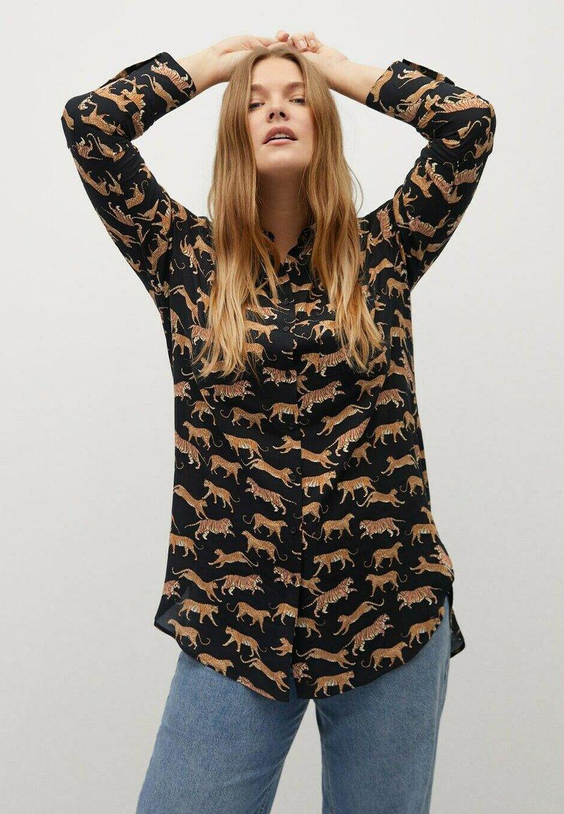 Violeta by Mango - MAON8 - Button-down blouse - black