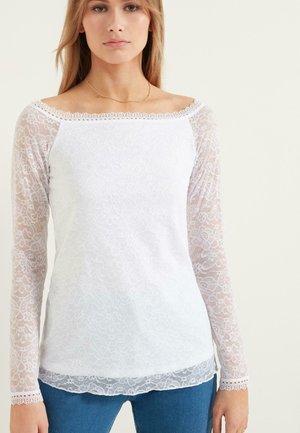 Long sleeved top - bianco
