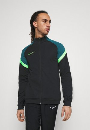 DRY ACADEMY - Training jacket - black/green strike