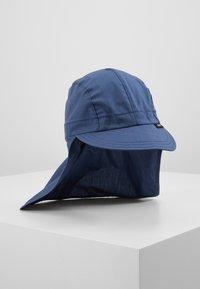 pure pure by BAUER - KIDS MIT NACKENSCHUTZ UNISEX - Sombrero - dark blue - 1