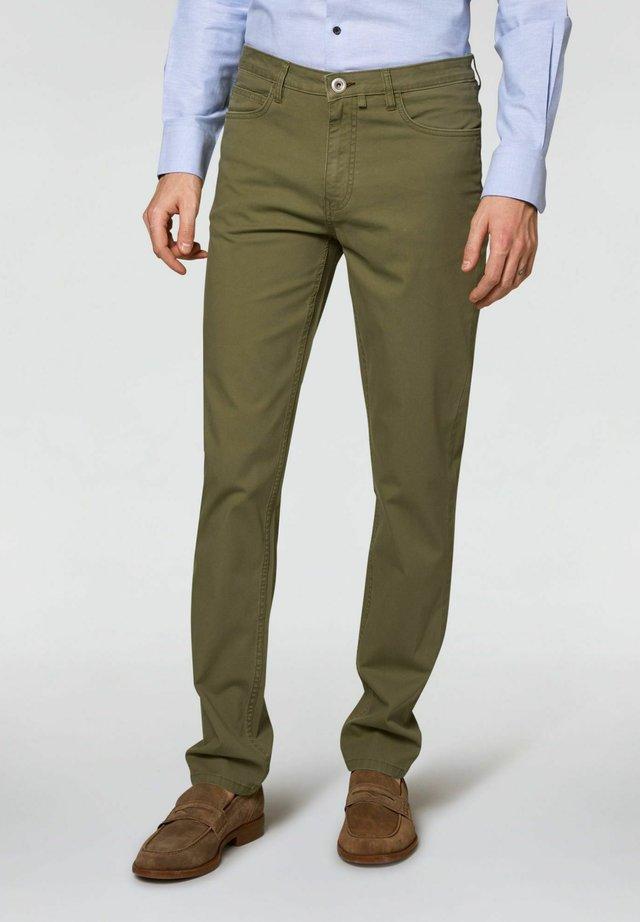 TAILORED FIT - Pantaloni - verde militare