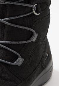Viking - HASLUM GTX - Winter boots - black - 2