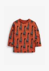 Next - GIRAFFE - Long sleeved top - orange - 0