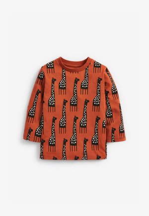 GIRAFFE - Long sleeved top - orange