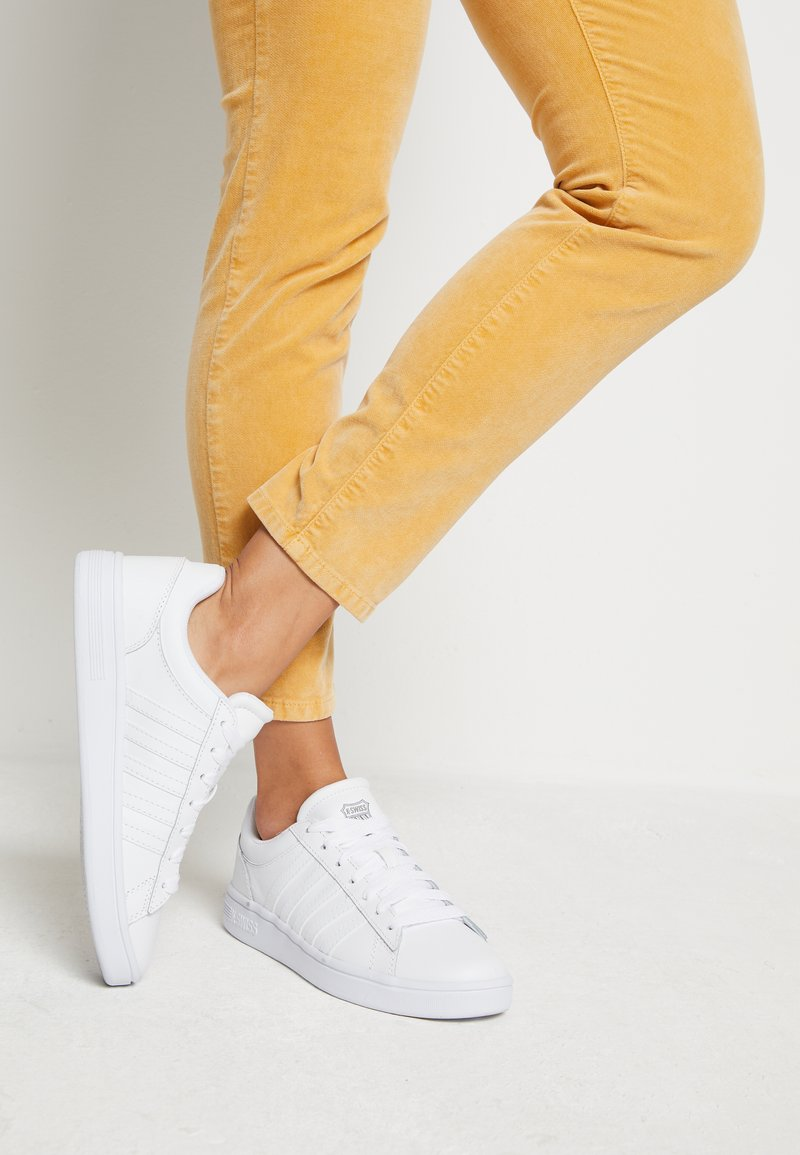 K-SWISS - COURT WINSTON - Sneakers laag - white
