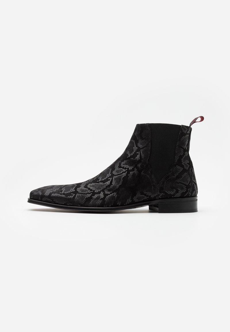 Jeffery West - SCARFACE PLAIN CHELSEA - Kotníkové boty - black