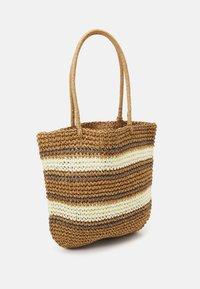 Pieces - PCLEONA SHOPPER - Tote bag - birch - 1