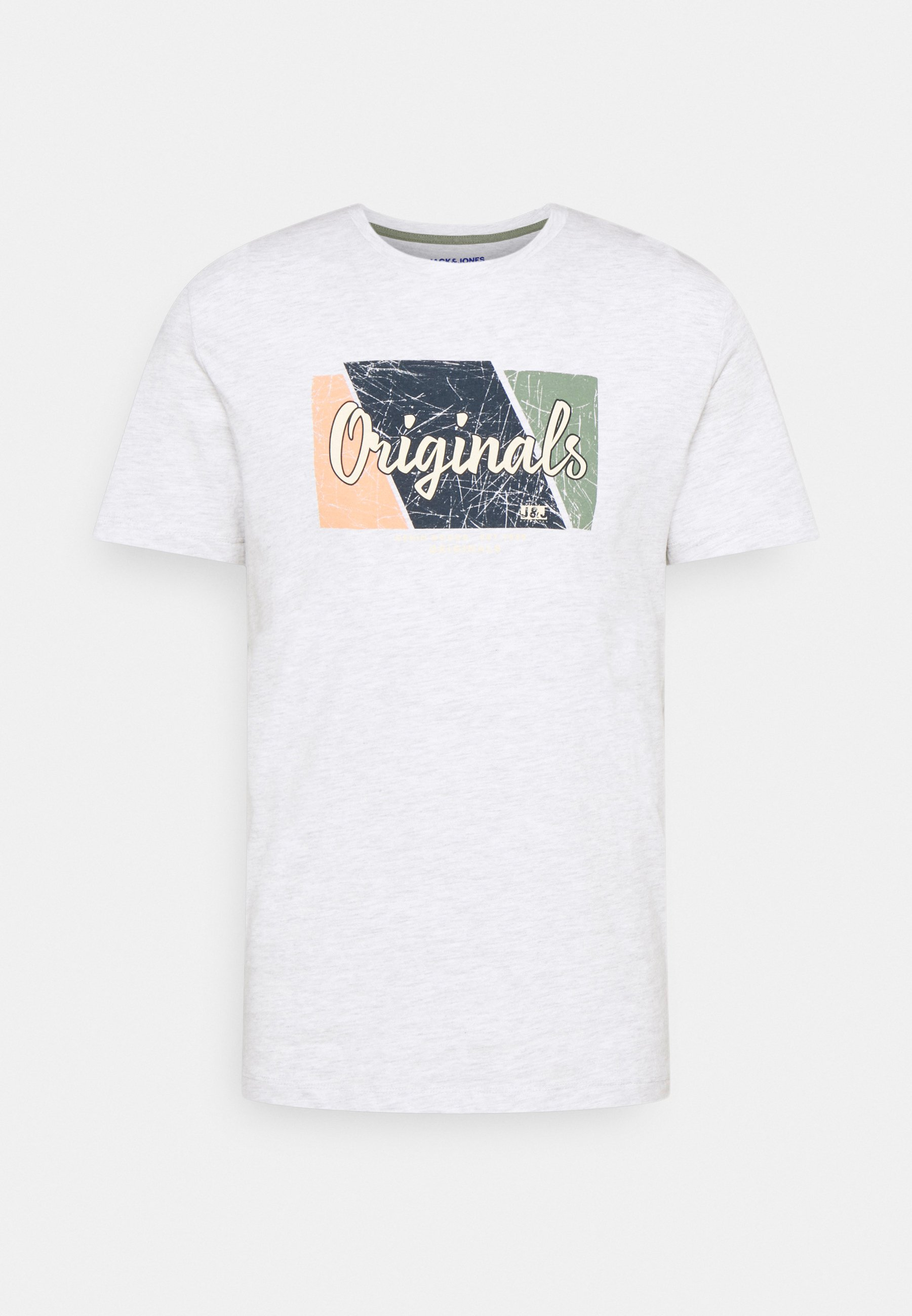Men JORLOGON TEE CREW NECK  - Print T-shirt